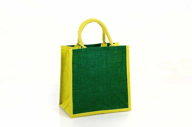 žlutozelená taška