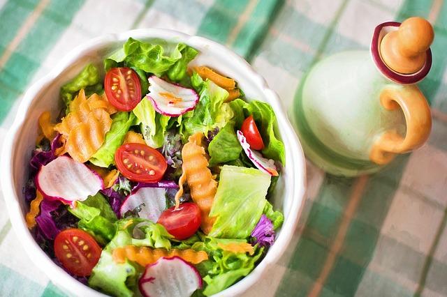 salát ze zeleniny