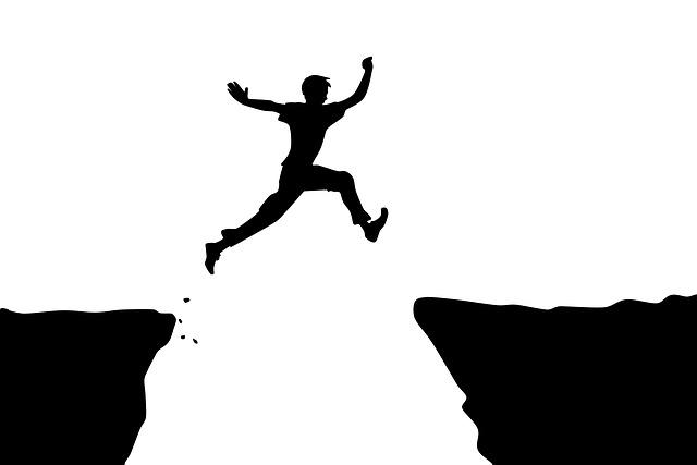 dlouhý skok