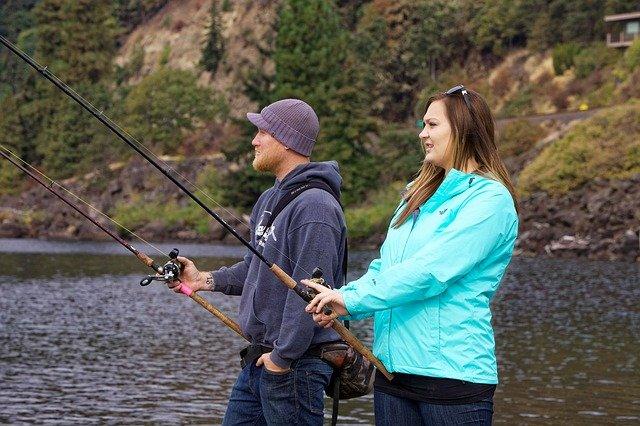 lov lososů