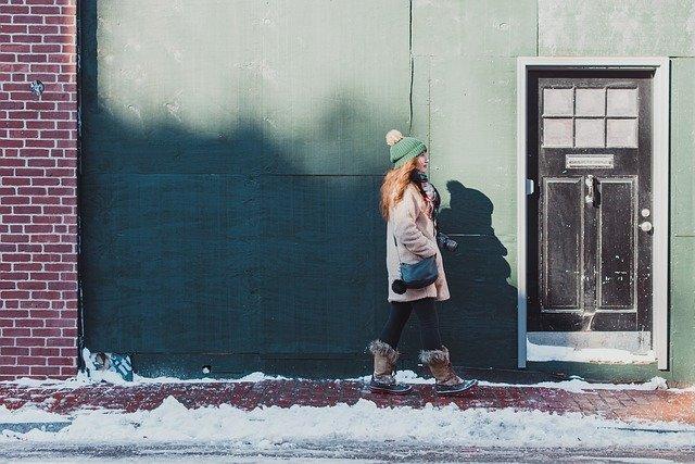 oblečení do sněhu