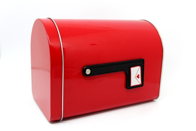 červená schránka