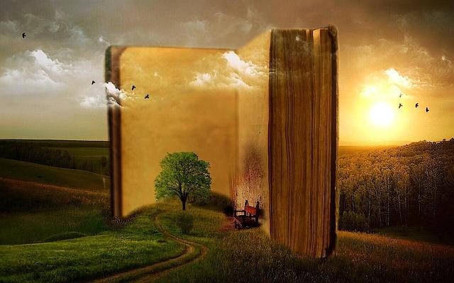 kniha s příběhem