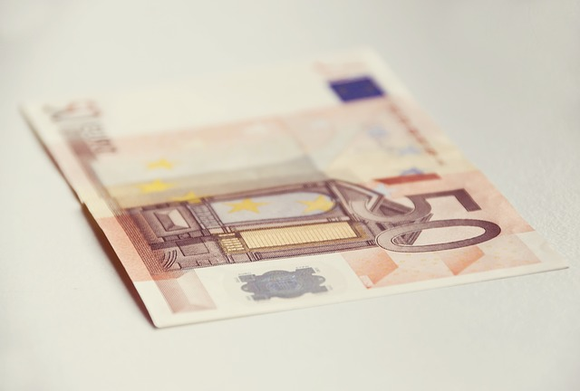 padesátieurová bankovka